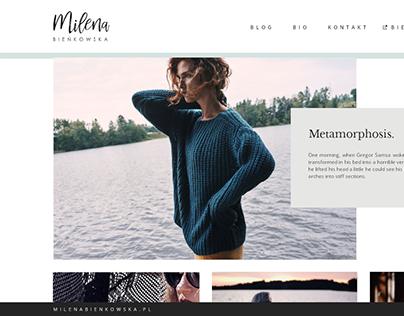 Visual identification for fashion & lifestyle blogger