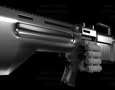M60 Machine Gun w Crayon Bullets