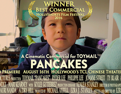 """Toymail """"Pancakes"""" Commercial"""
