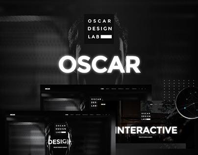 Oscar - Minimal Parallax One Page Template