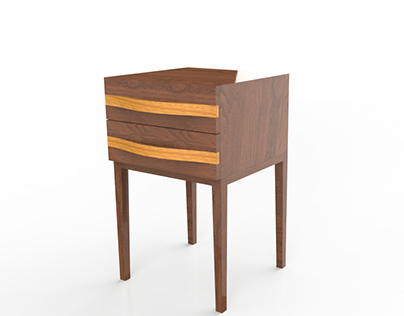 Akhrot Side Table