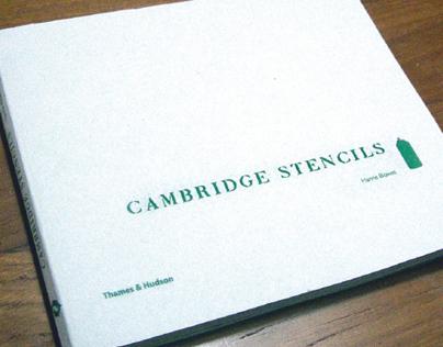 Cambridge Stencils - Book design