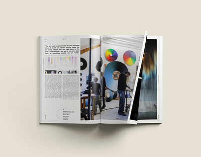Editorial Design for Works by Olafur Eliasson