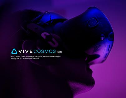 Product Photography - HTC VIVE COSMOS ELITE