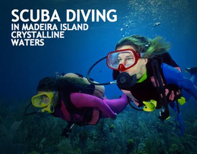 Scuba Diving Website | HTML5 + CSS3 Website