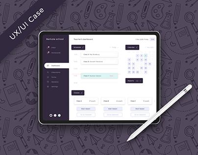 UX/UI Case | Teacher's Dashboard