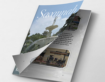 Savannah, Belle of the South Booklet