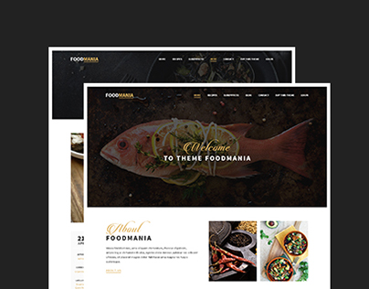 WordPress Theme - FoodMania