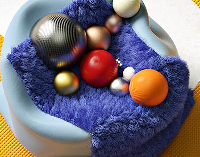 Balls and box
