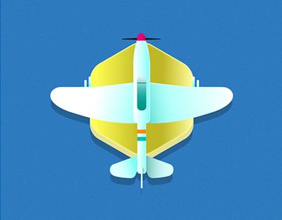 Badge Avioneta