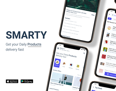 Smarty App : E-commerce Platform