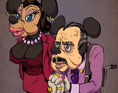 Cartoon Characters That Got Old