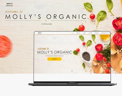 Molly's Organic restaurant