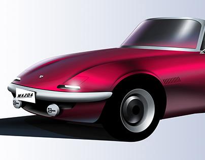 Reverse Retro - Mazda MX-1965
