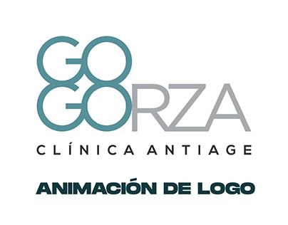 Gogorza Clínica Antiage - Animacion de Logo