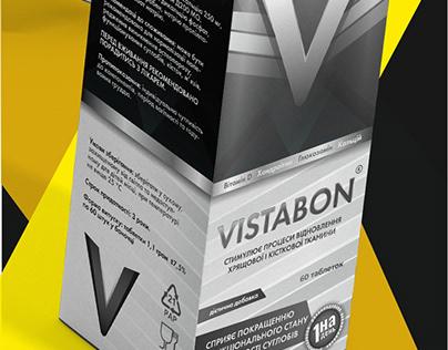pills package Vistabon