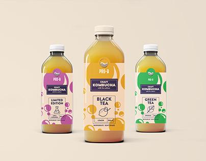 Pro B Packaging and Menu Design