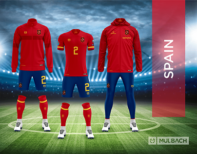 Spain 2020 Home Kits Concept Pack