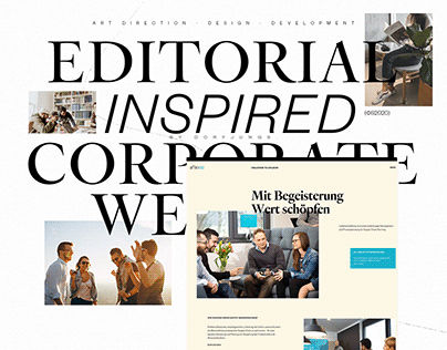 Editorial Inspired Consultancy Website
