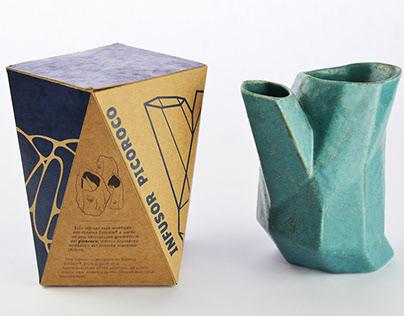 Packaging del Infusor Picoroco para Rizoma Estudio