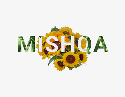 Sunflower // Flower Bouquet Text Combo