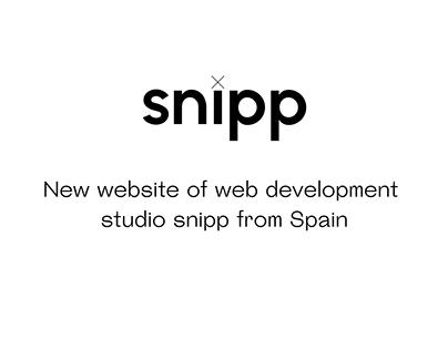 Snipp's web
