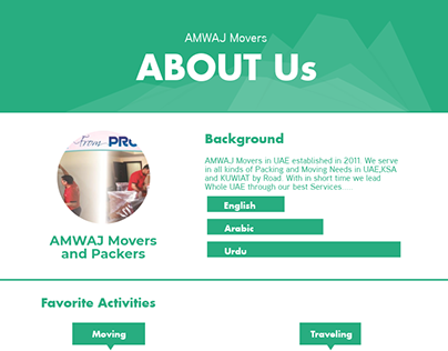 AMWAJ Movers and Packers in UAE