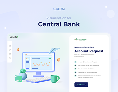 Visual Solutions for Central Bank