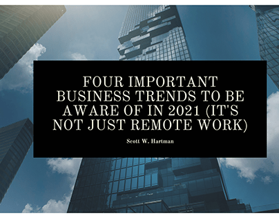 Four important business trends to be aware of in 202