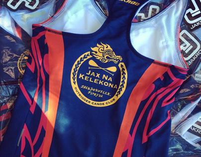 Jax Na Kelekona Outrigger Club Branding & Jerseys