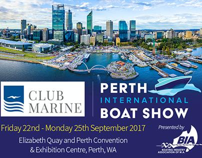 Perth Boat Show Branding