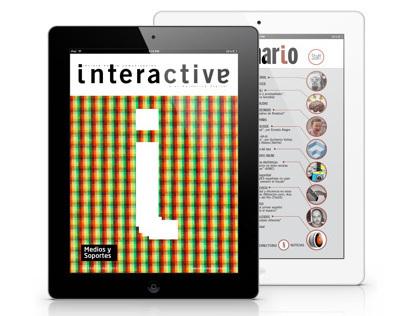 Digital magazine · Interactiva