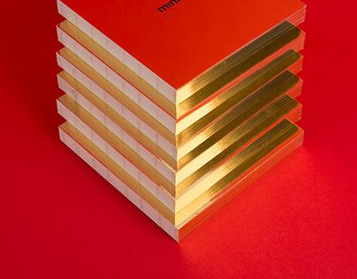[minimalist classic] Mirror Note - Gold