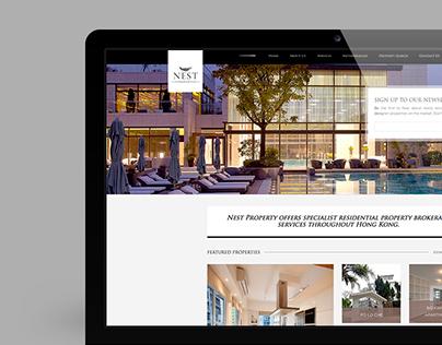 Nest Property Web Design