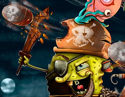 Pirata Bob esponja