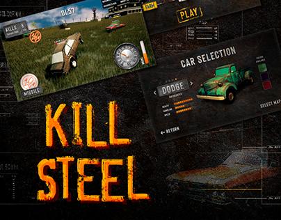 Kill Steel Game UI - Case Study