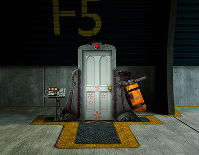 Boo Door