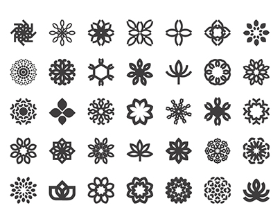 40 icons and illustrations sets (2015-2017)