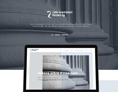 Riello Investimenti Website