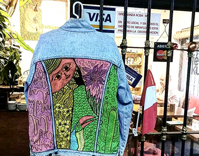 Denim Jacket Design Nature