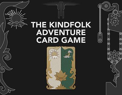 The KindFolk Adventure Card Game - UI Card Deck design