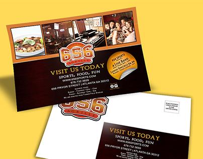 Nightbar Direct Mailer/ Flyer PSD Download