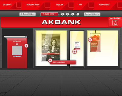 Akbank | Mini Portal