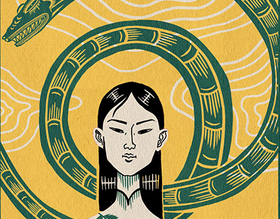 Editorial Illustration - 12 Asian Zodiac