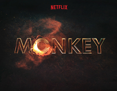 The New Legend Of Monkey - Title design