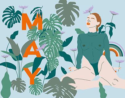May — Illustration