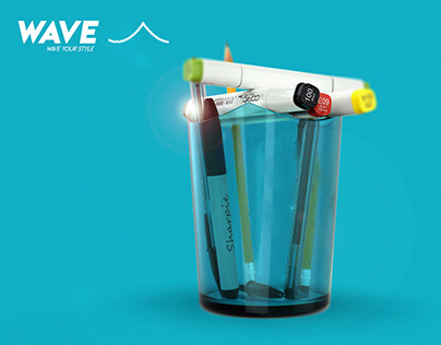 """Wave"" - It is not just a pencil case."