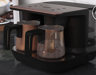 Beko Turkish Coffee Machine || Full CGI