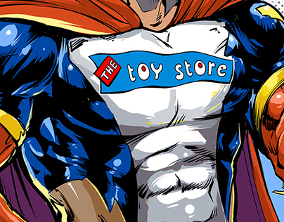 The Toy Store Superheroes