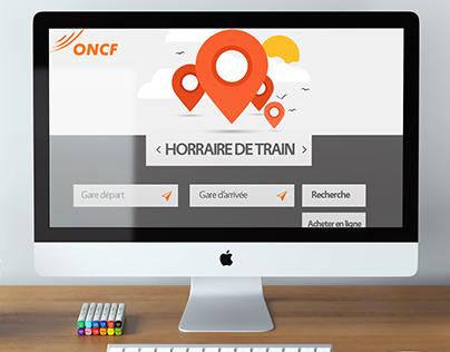 Website - ONCF Train